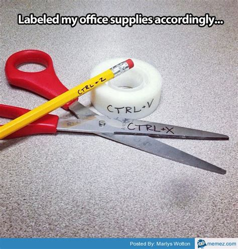 8 Hilarious Office Supplies by Home Memes