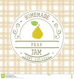 jam labels template jam label design template for pear dessert product with