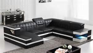 U Shape Sofas Oliverio U Shape Pure Italian Leather Sofa U Shape Sofa