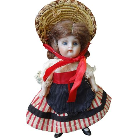 all bisque german doll all bisque german chunky doll with glass from