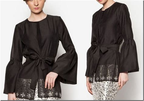 Ifena Ribbon Dress Atasan Blouse Baju Batik Fashion Wanita 78 images about baju raya 2016 fashion ideas on grey blouse blouse styles and