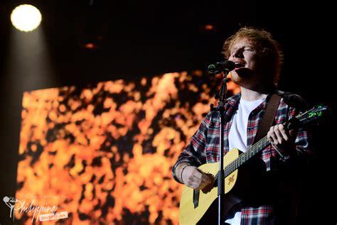 ed sheeran live ed sheeran live in manila photo gallery philippine concerts