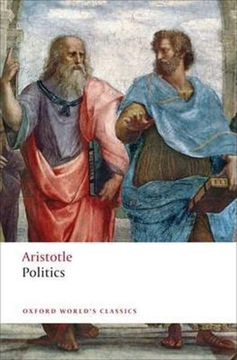 Aristotle The Politics the politics aristotle 9780199538737