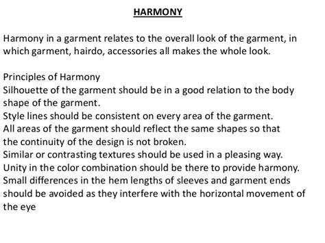 Design Harmony Meaning | principlas of design in fashion