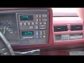 driving the 1991 chevy