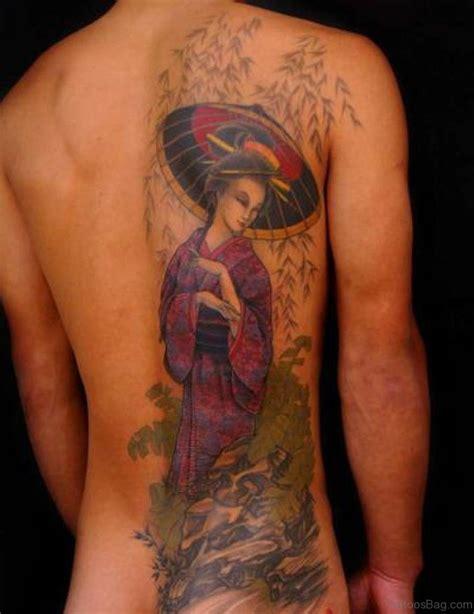 small geisha tattoo 68 exclusive geisha tattoos for back