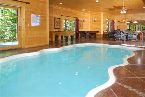 Pigeon Forge Cabin Rentals With Indoor Pool by Cabin Rentals With Indoor Pools In Pigeon Forge