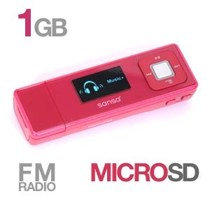 Sansa Express Now Available In Pink by Sandisk Sansa Express 1gb Refurbished Mp3 Player Pink At