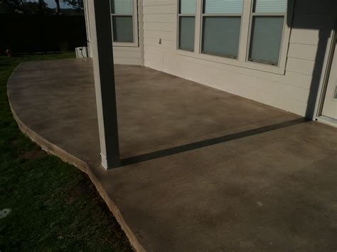 Diy Stained Concrete Patio by Diy Concrete Stain Patio Images