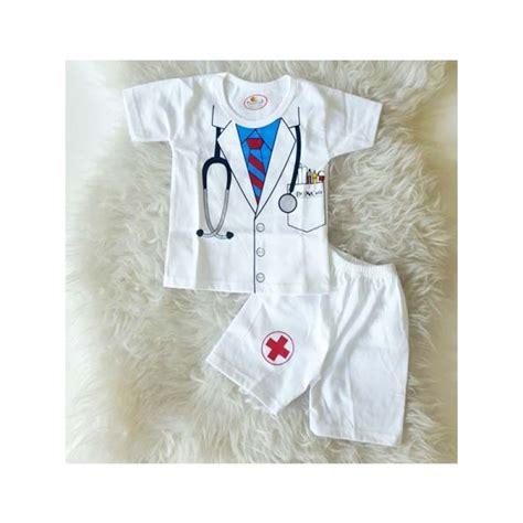 Baju Setelan Bayi Doraemon Dorayaki baju bayi lucu setelan dokter