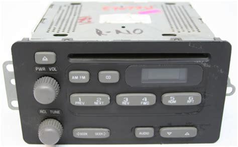 2004 2005 Pontiac Sunfire Factory AM Mono FM Stereo Radio