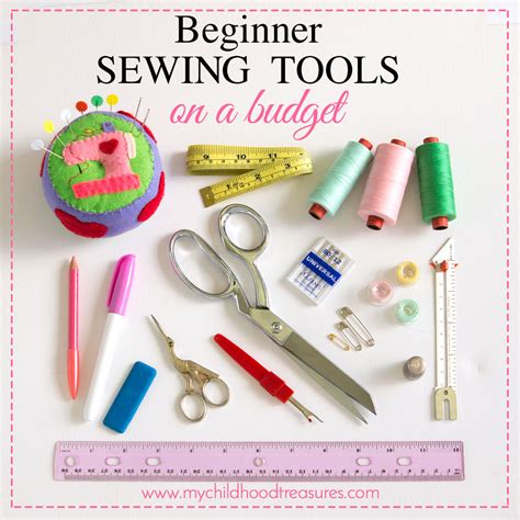 tools beginners beginners sewing kit on a budget best sewing supplies