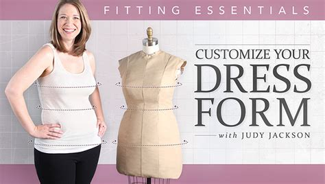 pattern maker online course learn how to pad a dress form in craftsy s customize your