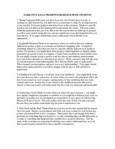 High school personal statement essay examples high school essay