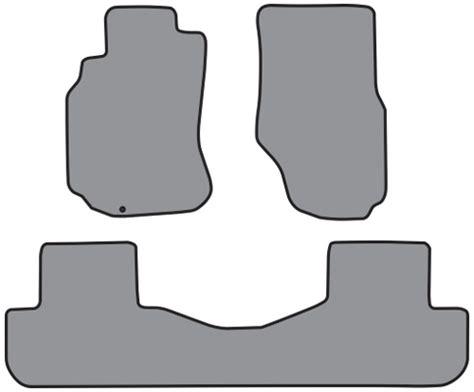 Infiniti G35 Floor Mats Factory by 2003 2005 Infiniti G35 2pc Fronts 1pc Rear Cutpile 3pc Factory Fit Floor Mats
