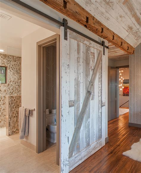 rustic bedroom doors sliding barn door designs mountainmodernlife com