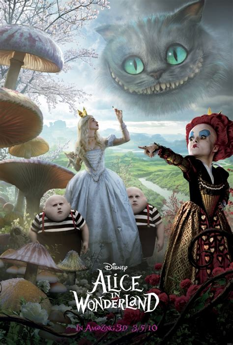 film disney new disney pic of the day new alice in wonderland movie poster