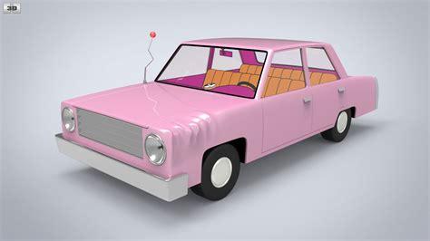 Wheels The Simpsons Homer Family Car Pink Sedan 2017 Hw Miniature homer s car 3d model humster3d
