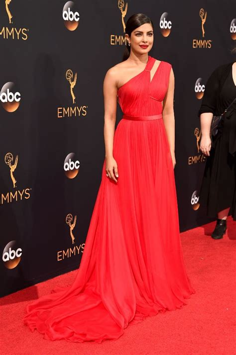 priyanka chopra at the emmy priyanka chopra 68th annual emmy awards in los angeles