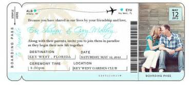 Airline Ticket Template Invitation by Diy Airline Ticket Invitation