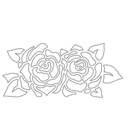 free printable flower stencil templates stencils printable free kiddo shelter