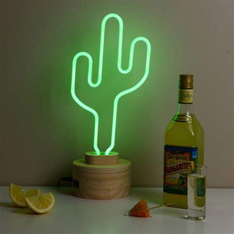 Neon Cactus Light by Neon Cactus Light By Home Notonthehighstreet