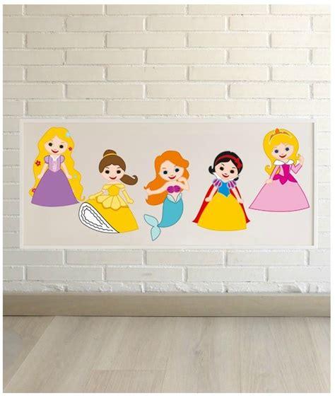 laminas de princesas l 225 minas de princesas para habitaciones infantiles
