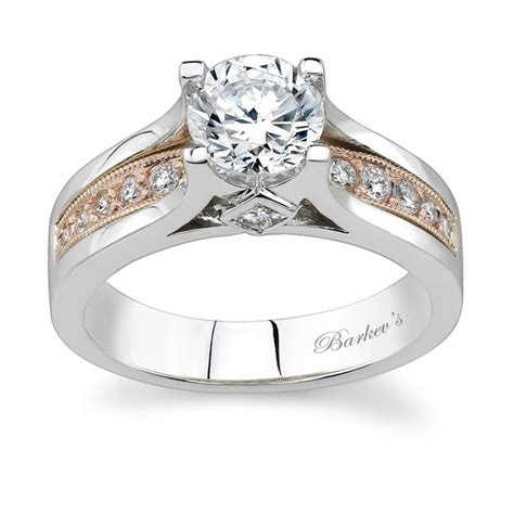 barkev s two tone engagement ring 7173l