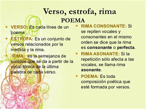 un poema con estrofas y versos poemas con estrofas versos y rimas images
