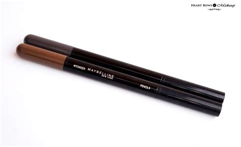 Maybelline Brow maybelline fashion brow duo shaper brown grey review swatches price india bows makeup