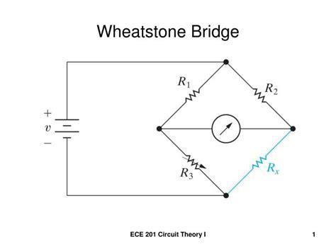 wheatstone bridge calculator ppt wheatstone bridge powerpoint presentation id 832280