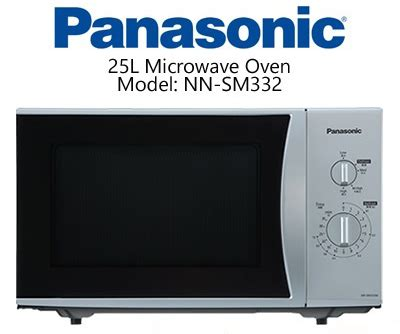 Microwave Digital 25 L Panasonic Nnsm322 panasonic microwave oven sm 332 brand bazaar bd