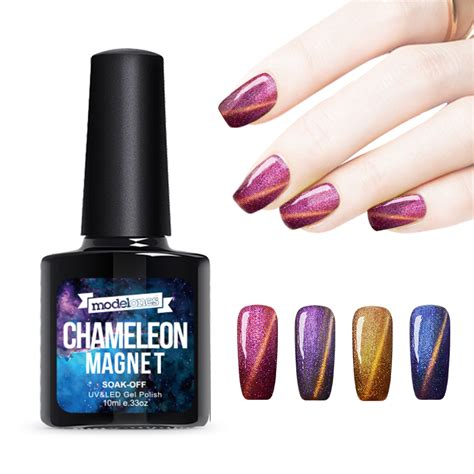Gel Magnetic by Modelones 1pcs 10ml Uv Chameleon Gel Nail 3d Magnetic Cat