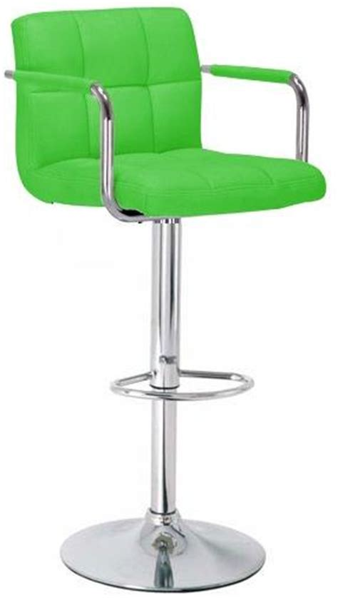 green bar stools with arms stoolsonline padded bar kitchen counter and chrome