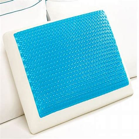 comfort revolution hydraluxe gel memory foam bed pillow comfort revolution cool comfort hydraluxe gel and foam