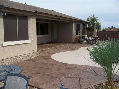 backyard sted concrete patio ideas cement backyard ideas creating patios driveways pathways