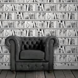 Salon Jardin Leroy Merlin #5: Papier-peint-intisse-bibliotheque-brooklyn-gris-fonce.jpg