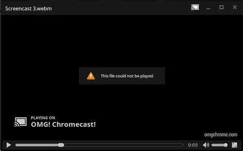 chrome video player chrome os steps closer to enabling video player chromecast