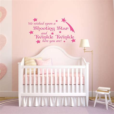 baby quote wall stickers baby s nursery quote wall sticker by mirrorin