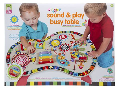 play and learn activity table gifts for 1 year olds itsy bitsy fun