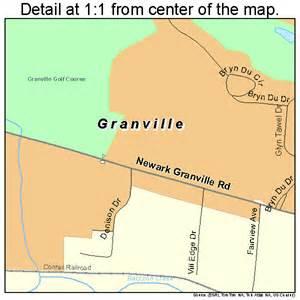 Granville Ohio Map granville ohio street map 3931402