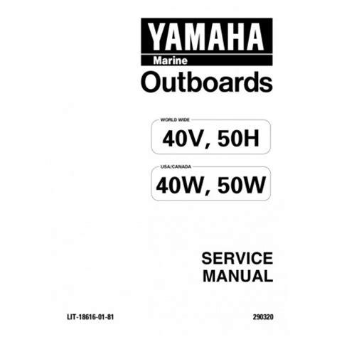 Manuel Yamaha 40hp