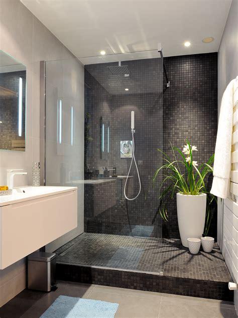 ceramiche bagni moderni bagno con pavimenti e rivestimenti in mosaico 100 idee