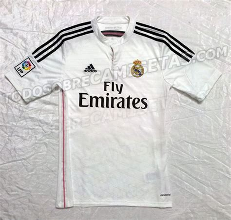Tshirt Major League Putih Picture Real Madrid S 2014 15 Shirts Leaked Caughtoffside