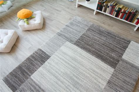 teppich grau beige new modern rug nancy square design colourful contemporary