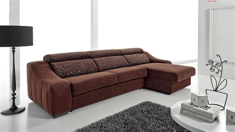 pull up leather sofa pleasant brown fabric reversible sectional with fold out