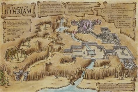 Forest Green Hex portfolio fantasy maps