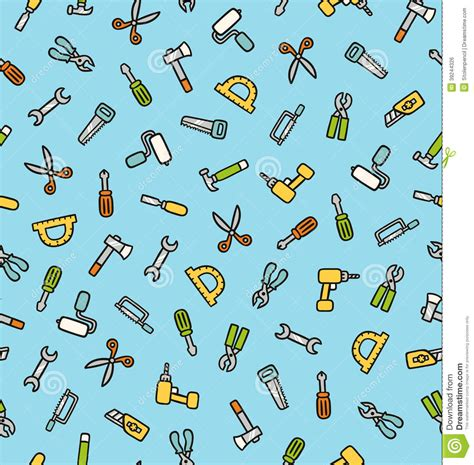 svg pattern not working tools pattern stock vector image of background