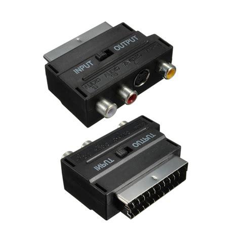 Kabel Rca 3 Audio Visero Av k 248 b rgb scart han til 3 rca s av tv audio kabel