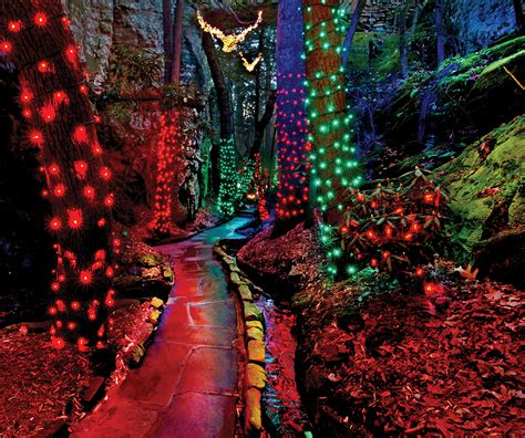The Enchanted Rock Garden Rock City S Enchanted Garden Of Lights Yeah Lets Go Atlanta